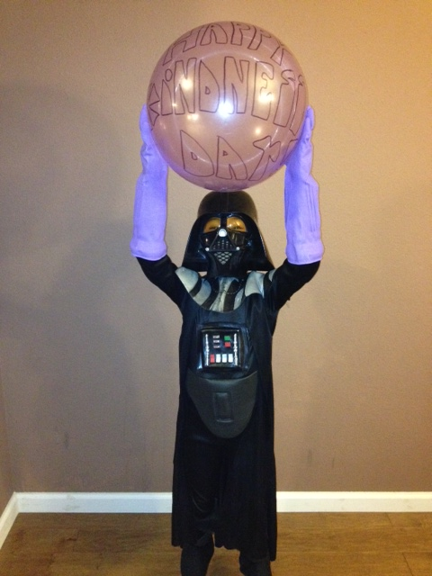 Happy Kindness Day from Dark Vader
